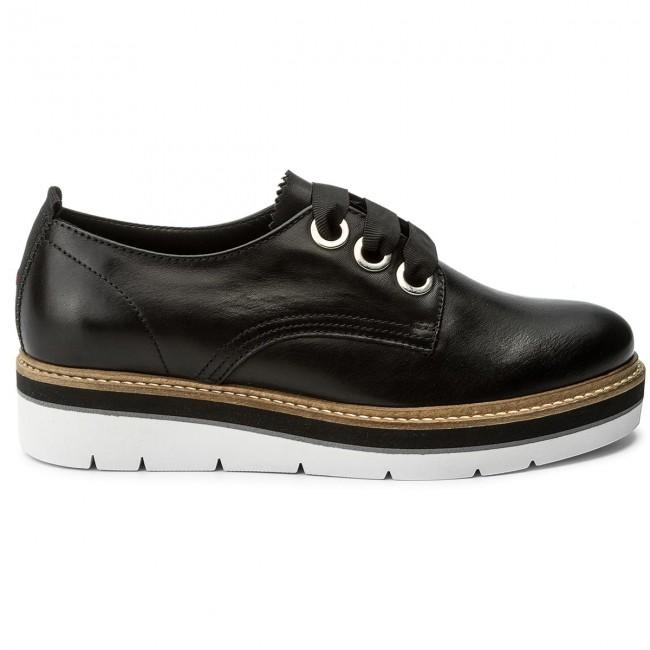 ccbd7284c4fb7 Oxfords TOMMY HILFIGER - Manon 4A FW0FW02622 Black 990 - Oxfords - Low  shoes - Women's shoes - www.efootwear.eu