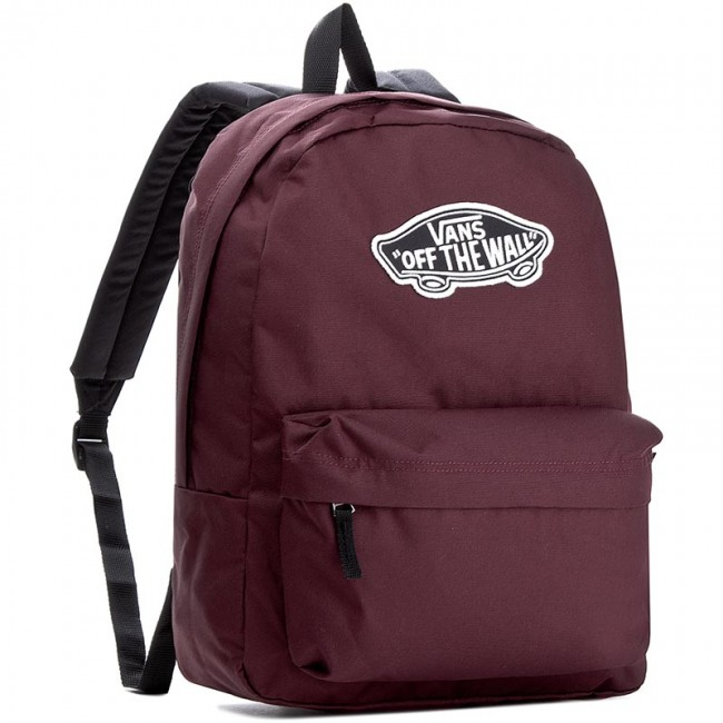 Backpack VANS - Realm Backpack VN000NZ04QU Dark Red - Sports bags ... b99917a774
