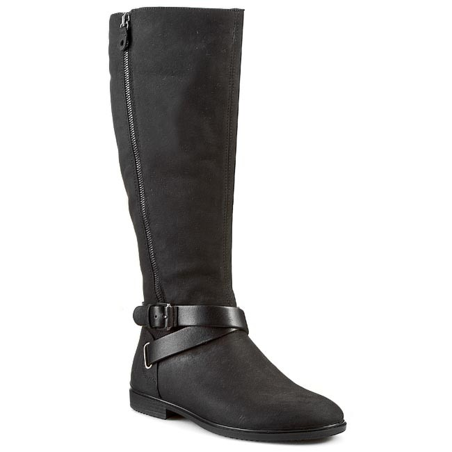 ce88cbc47310 Knee High Boots ECCO - Touch 15 B 26164353859 Black - Jackboots ...
