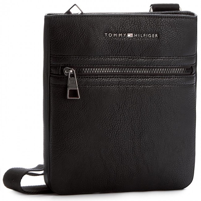 Messenger Bag TOMMY HILFIGER - Essential Flat Crossover AM0AM00806 Black 002 f489707f60