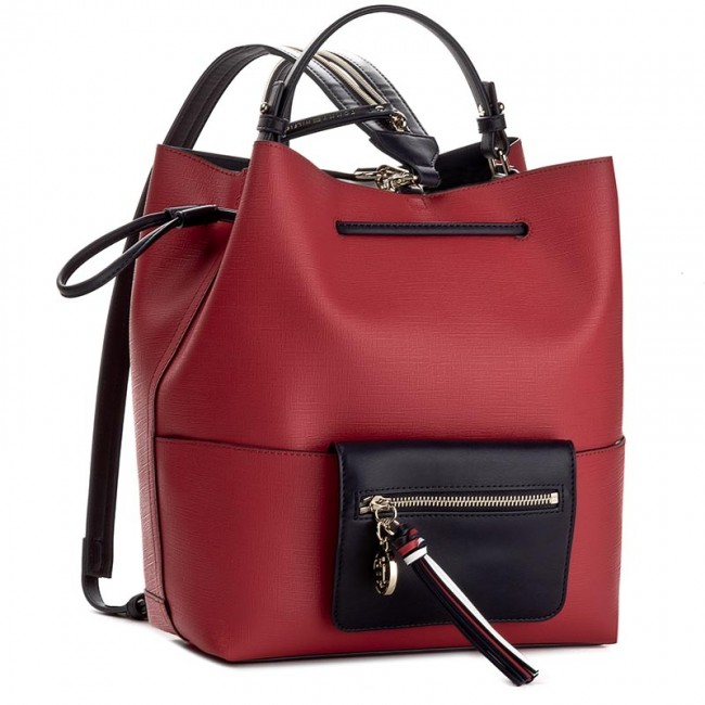 77061441096b6 Backpack TOMMY HILFIGER - Love Tommy Bucket Backpack AW0AW03689 904 ...