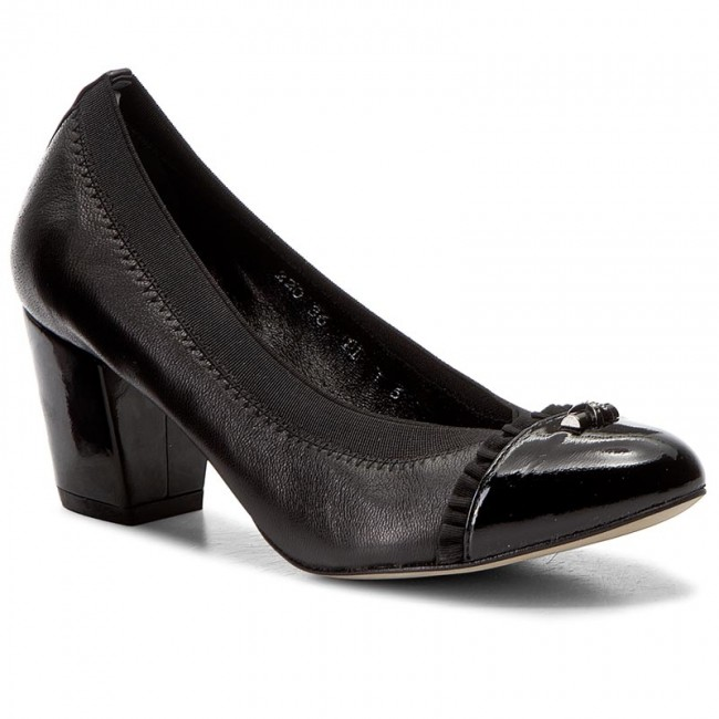 Shoes BALDOWSKI - 220 Czarny Lakier/Skóra