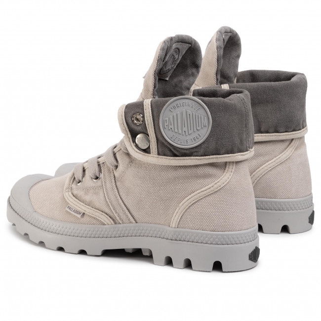 Hiking Boots PALLADIUM Pallabrouse Baggy 92478 095 M VaporMetal