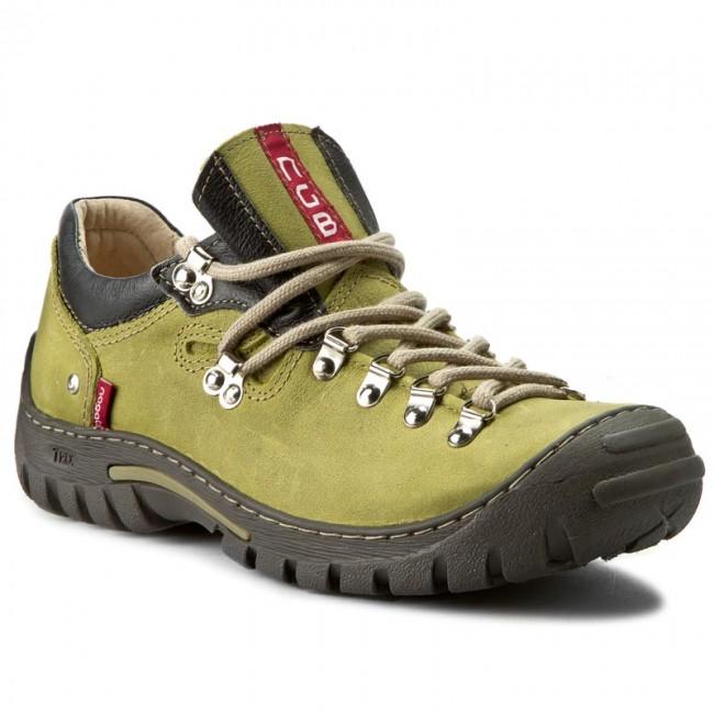 Shoes NAGABA - 055 Zielony Barka