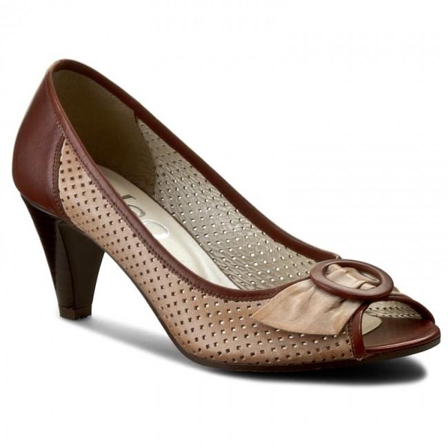 Shoes EDEO - 1095-133k/133/257 Brąz