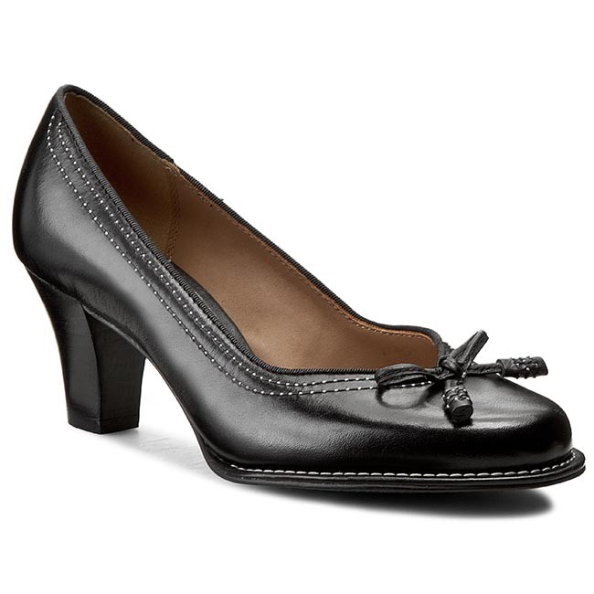 Shoes CLARKS - Bombay Lights 203067434 Black Leather