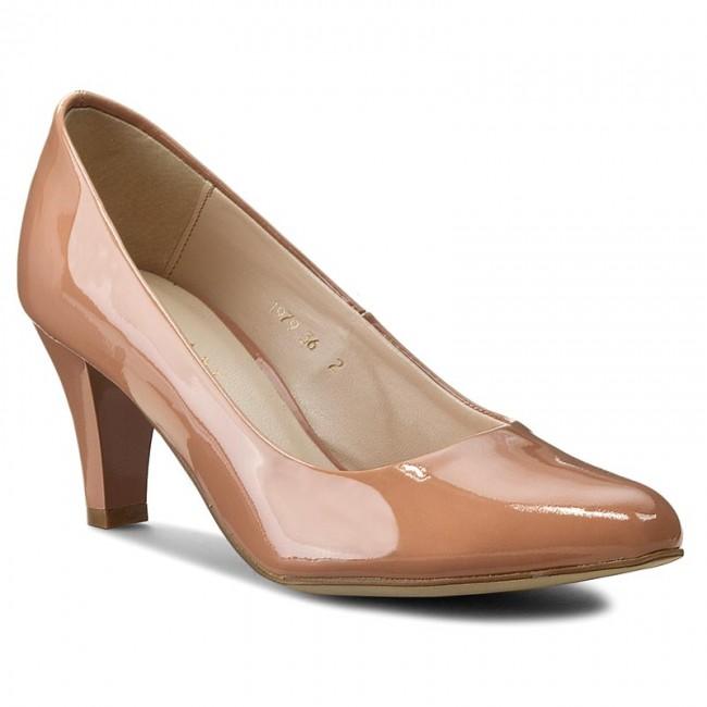 Shoes SAGAN - 1979 Nude Lakier