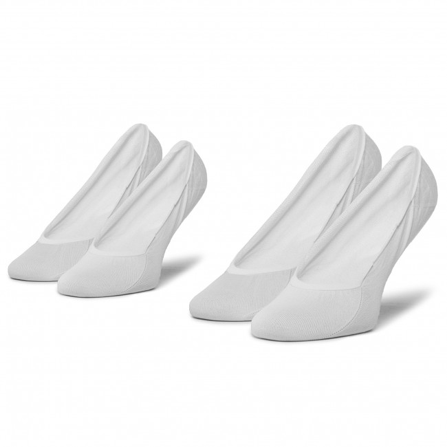 2 Pairs of Women's Footsies TOMMY HILFIGER - 353007001 White 300