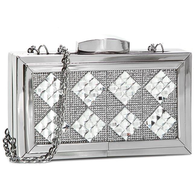 Handbag MENBUR - 83733 Silver 0009