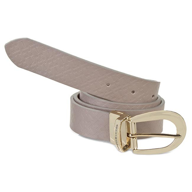 Women's Belt TOMMY HILFIGER - Dominique Belt 3.0 Reversible BW56927367 Moon Rock 852