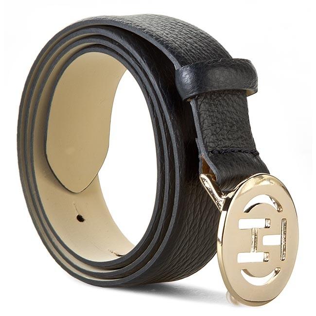 Women's Belt TOMMY HILFIGER - Elisabetta Belt 3.0 BW56927374 Midnight 403