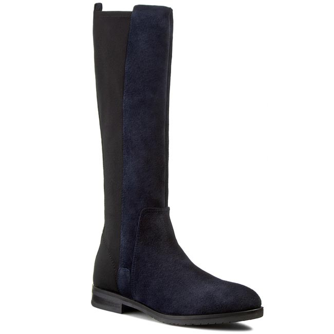 Knee High Boots TOMMY HILFIGER - Berry 2B FW56819458  Midnight/Black 403