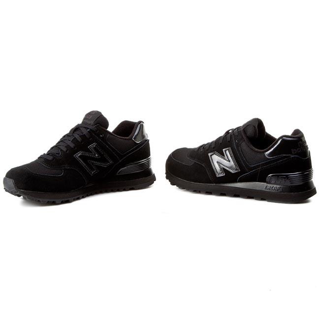 buy online c2d0c 4509e Sneakers NEW BALANCE - Classics M574TBK Black