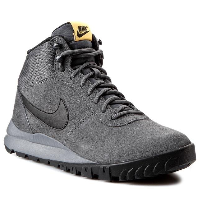 654888 LsrOrng NIKE 008 Cl Hoodland Suede GreyBlk Dark Shoes Grey TJl1FKc