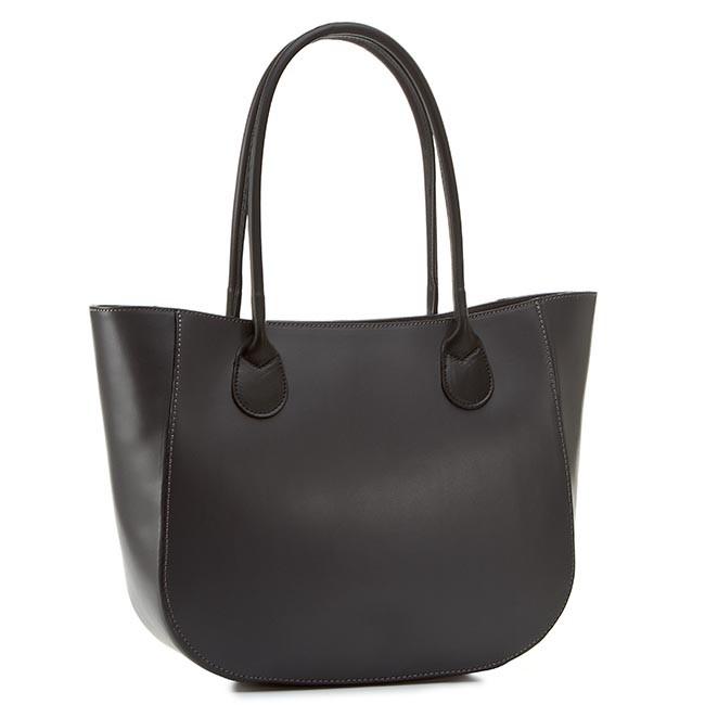 Handbag CREOLE - RBI10142 Grafit/Czarny