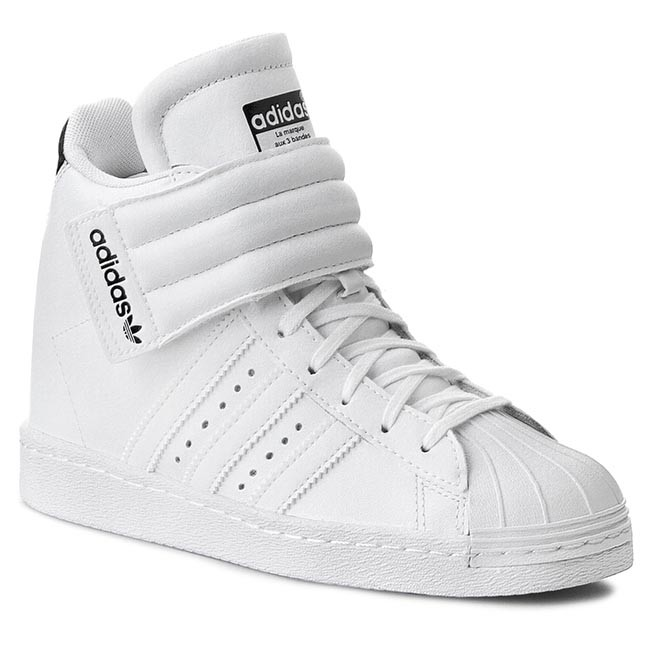 on sale 74c25 58e2e Sneakers adidas - Superstar Up Strap W S81351 Ftwwht/Cblack