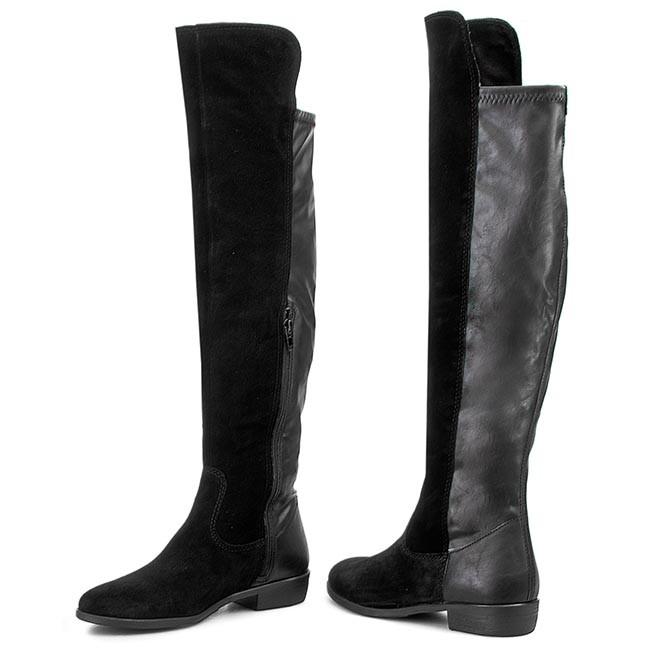 25 Tamaris 1 Knee Boots Black 001 25568 Over trsdQh