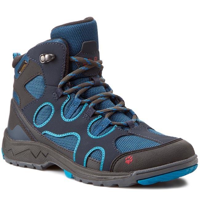Trekker Boots JACK WOLFSKIN Crosswind Texapore Mid K 4015631 1077360 Dark Turquoise