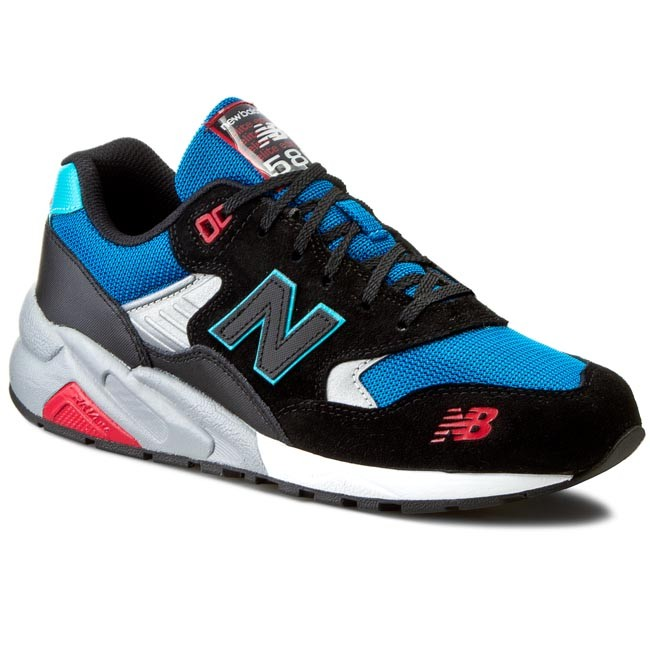 reputable site 67725 f8695 Sneakers NEW BALANCE - Lifestyle MRT580BF Black Blue