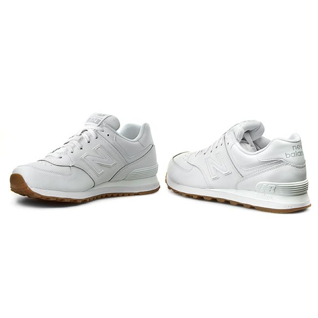 check out f70a4 af445 Sneakers NEW BALANCE - Classics NB574BAA White