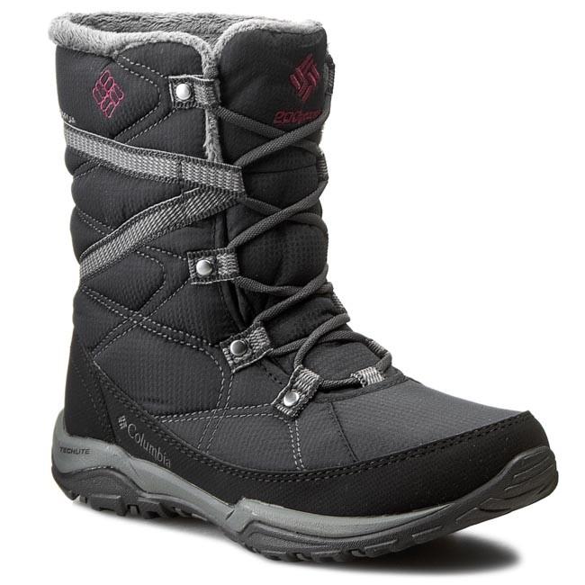 314cee9fa Snow Boots COLUMBIA - Minx Fire Tall Omni Heat 1646 Black/Dark Raspberry