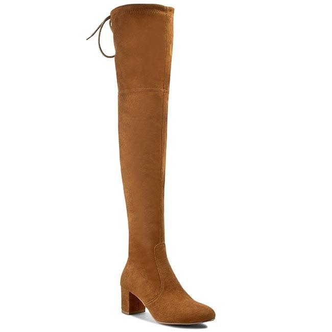 Over-Knee Boots R.POLAŃSKI - 0802  Rudy Zamsz