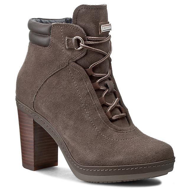 Boots TOMMY HILFIGER - Jovina 2B FW56819964 Mink/Coffee 906