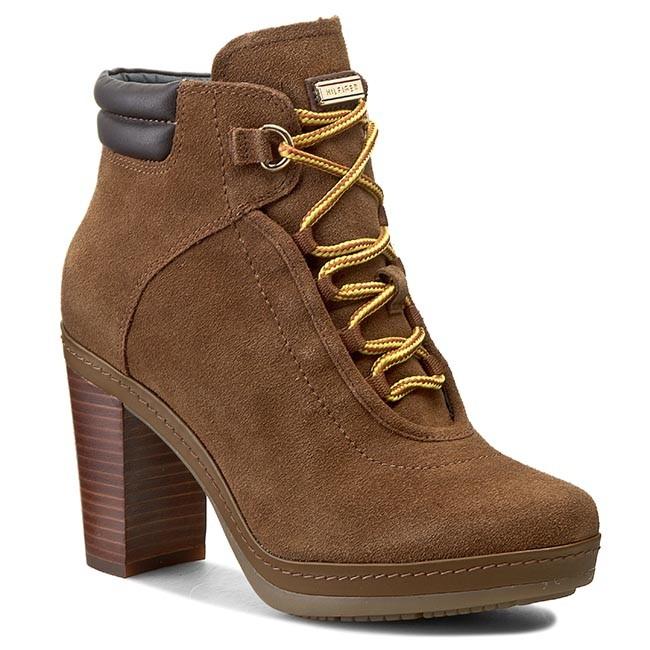 Boots TOMMY HILFIGER - Jovina 2B FW56819964 Tobacco/Coffee Bean 615