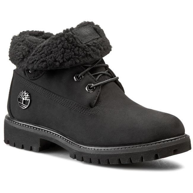 Hiking Boots TIMBERLAND - Af Roll Top 1039R Black