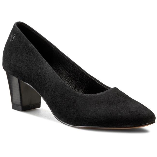 Shoes CAPRICE - 9-22402-25 Black Suede