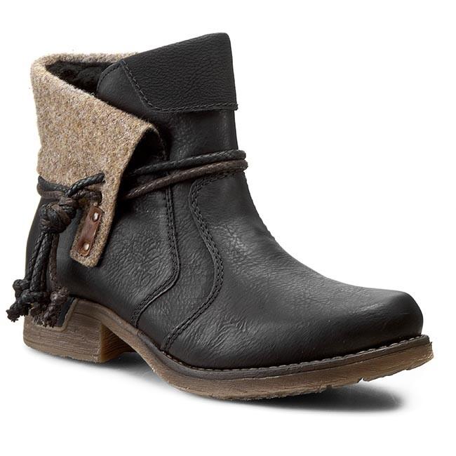 Boots RIEKER - 79693-00 Black Combination