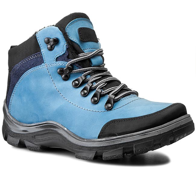 Hiking Boots KORNECKI - 03854/3 Ml/Ble/S