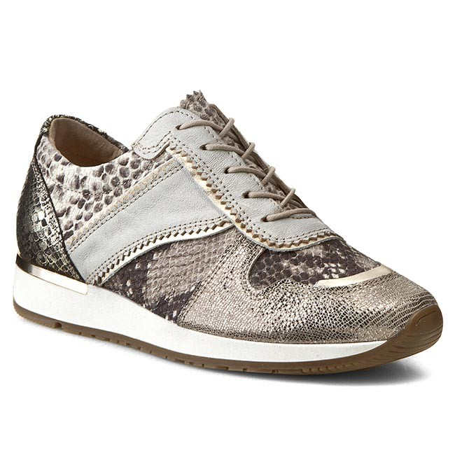 Shoes CARINII - B3075 Alaska Bill 01050/Crot. Opac Camel
