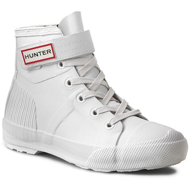 Sneakers HUNTER - Womens Orgi Hi-Top WFK1004RMA White