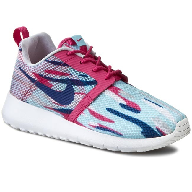 Shoes NIKE - Roshe One Flight Weight (Gs) 705486 401 Copa/Vvd Pnk/Insgn Bl Pr Plynm