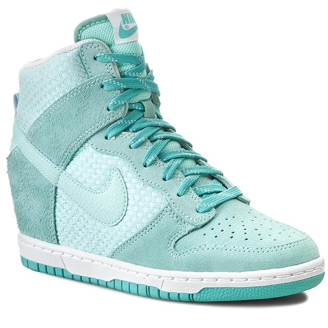 Shoes NIKE - Wmns Dunk Sky Hi Essential 644877 303 Artsn Tl/Lt Rtr/White