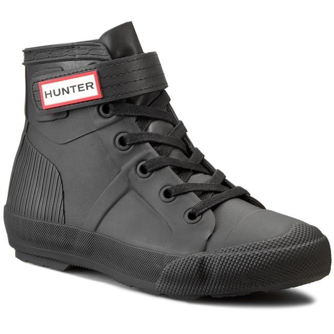 Sneakers HUNTER - Womens Orig Hi-Top WFK1004RMA  Black