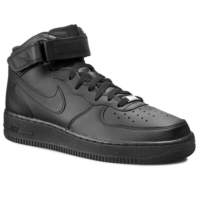 Shoes NIKE - Air Force 1 Mid '07 315123 001 Black