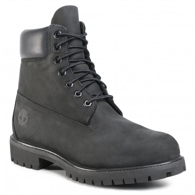 Hiking Boots TIMBERLAND - Premium 6 Inch Boot 10073/TB0100730011 Black