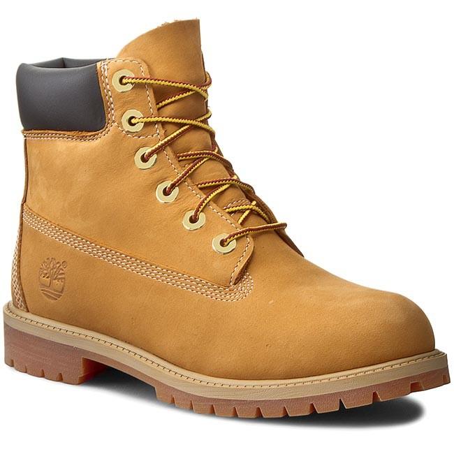 Hiking Boots TIMBERLAND - 6 In Premium Wp Boot 12909/TB0129097131 Wheat Nubuc Yellow