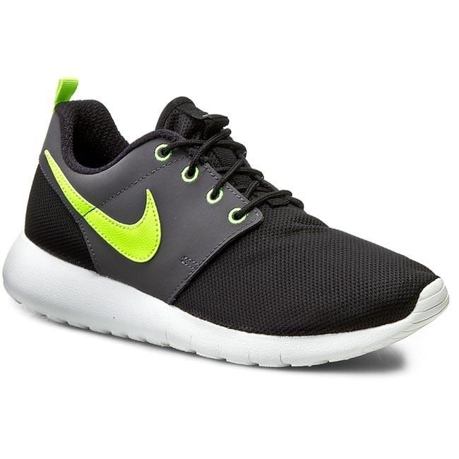 Shoes NIKE - Roshe One (Gs) 599728 022 Black/Volt/White/Dark Grey