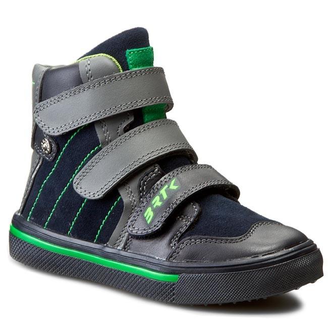 Boots BARTEK - 74153-0U5 Niebiesko/Szary