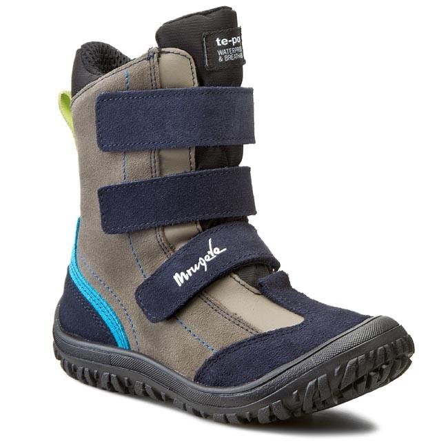 Knee High Boots MRUGAŁA - 7365-78 Granat/Popiel