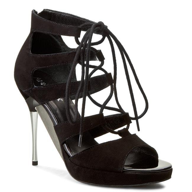 Sandals ANN MEX - 7213 01W Black
