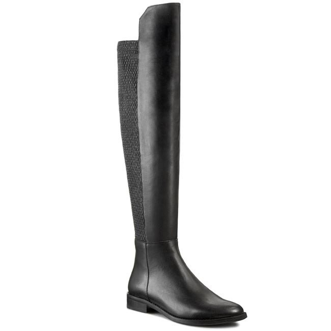 Over-Knee Boots NESSI - 71705 Czarny 14+St