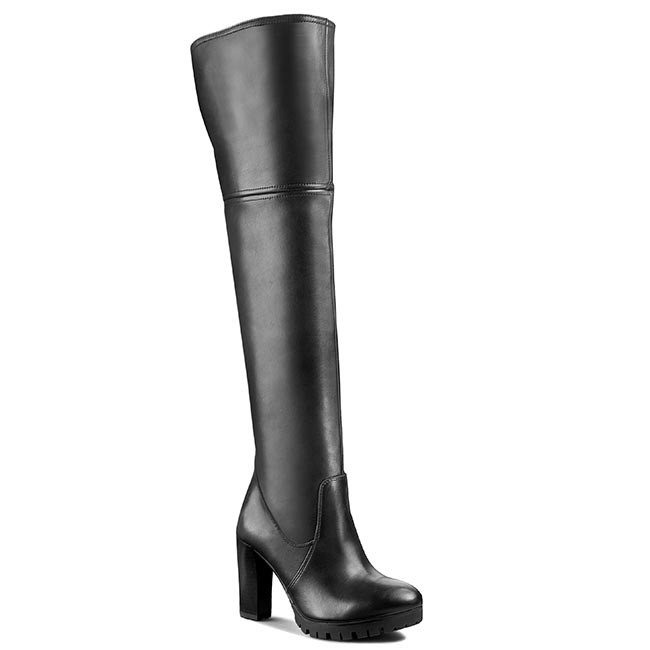 Over-Knee Boots NESSI - 733/O Czarny 161