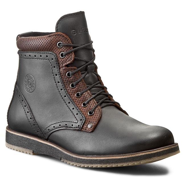 Knee High Boots LESTA - 172-6450-6-101119E1 Czarny/Buk