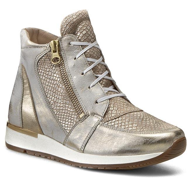 Sneakers EKSBUT - 75-3863-A60/E09/963 Złoty Licowa