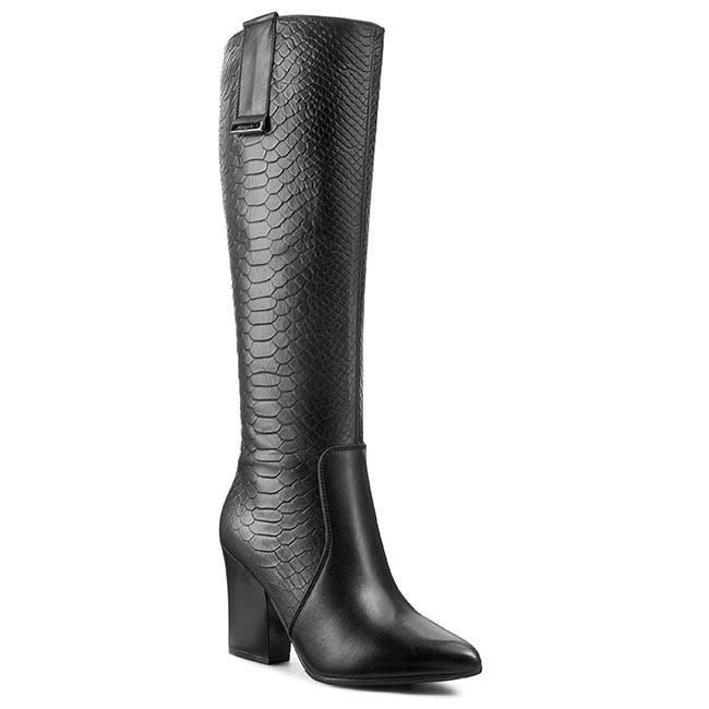 Knee High Boots EKSBUT - 95-3802-D69/155-1G Czarny Oc
