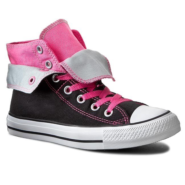 Sneakers CONVERSE - Ct Two Fold Hi 547229C Black/Pink P